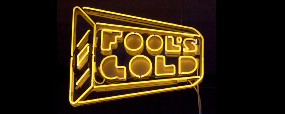 Image result for fools gold label