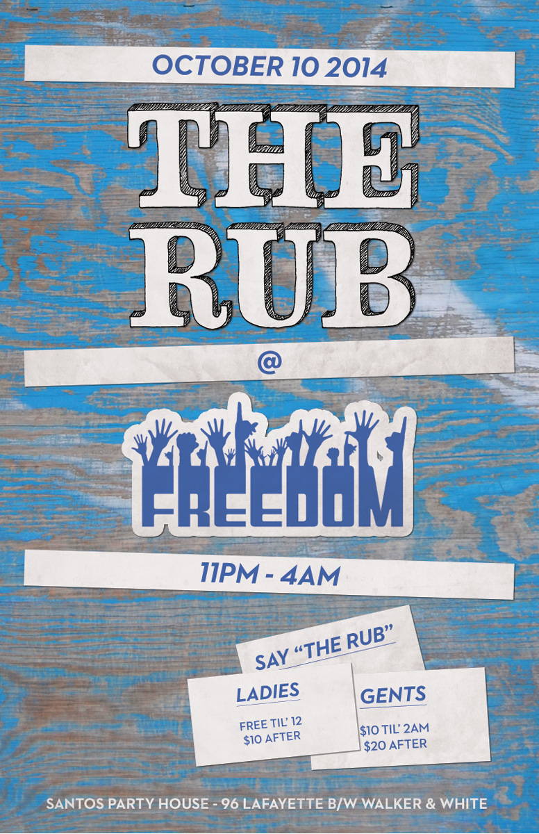 The Rub at Freedom